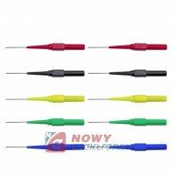 Igła pomiarowa - sonda ostrzowa elastyczna 10szt 5 kolor zestaw
