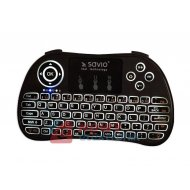 Klawiatura bezprz. SAVIO KW-02 podświetl. TV Box, Smart TV ,konsole,PC