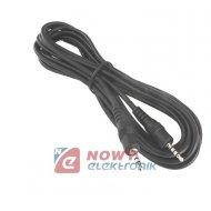Kabel jack 3,5 4-pol.wt./wt. 1,5 4-polowy 1,5m JKD75 digital Vital.