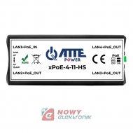 Extender Switch POE do kamer IP (dwie kamery IP na jednym kablu LAN)