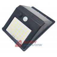 Lampa solarna 4W 30LED z czujnikiem ruchu i zmierzchu