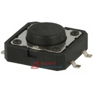 Mikroswitch 12x12x1,7mm 4 piny TS1201-5,0 SMD