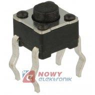 Mikroswitch 4.5x4.5mm 3.8/1mm TS4501-3,8 4piny