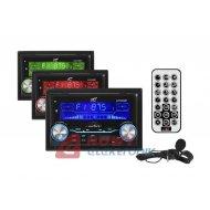 Radio samoch.LTC AVX2000BT 2DIN USB/SD/MMC/MP3/BT/MIC 4x55W