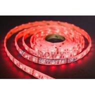 Taśma LED SMD5050 czerwony (1m) (300LED/5m) bez silikonu 12V