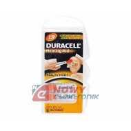Bateria AE13 DURACELL DA-13 (do aparatów słuchowych)