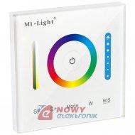 Panel LED RGB/RGBW dotykowy P3 RGB+CCT Mi-light naścienny sterownik