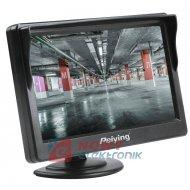 """Monitor LCD 5"""" samochodowy PEIYING"""