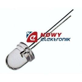 Dioda LED 10mm czerw.H clear L-813SRCB