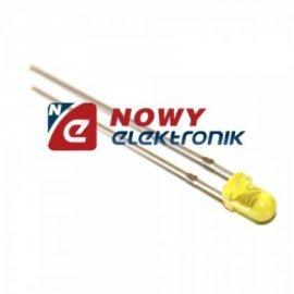 Dioda LED 3mm żółta [LED3002